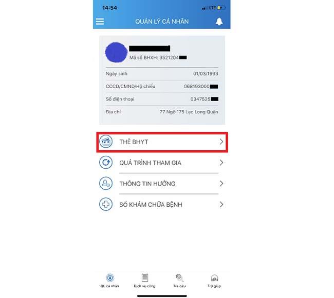 Giao diện đăng nhập ứng dụng VssID.