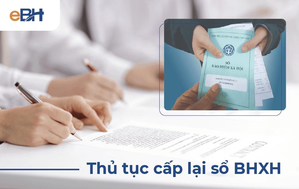 Thủ tục cấp lại sổ bảo hiểm xã hội theo quy định năm 2021